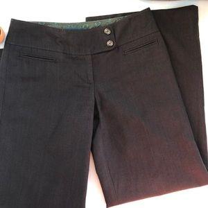 Cartonnier Wide Leg Wool Blend Pants